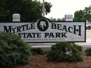 Myrtle Beach State Park Entrance
