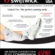 Product Review: Swiftwick Aspire Socks