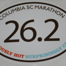 Columbia Marathon 2012 Review