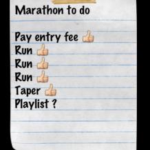 Final Marathon Details