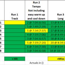 Week 8: BQ Training with Run Less Run Faster