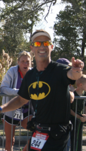 Batman at the Finish