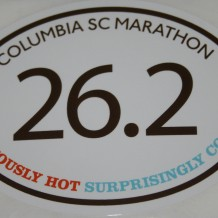 Columbia Marathon 2012 Review