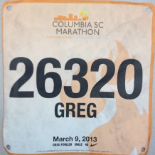 Race Report: 2013 Columbia Marathon